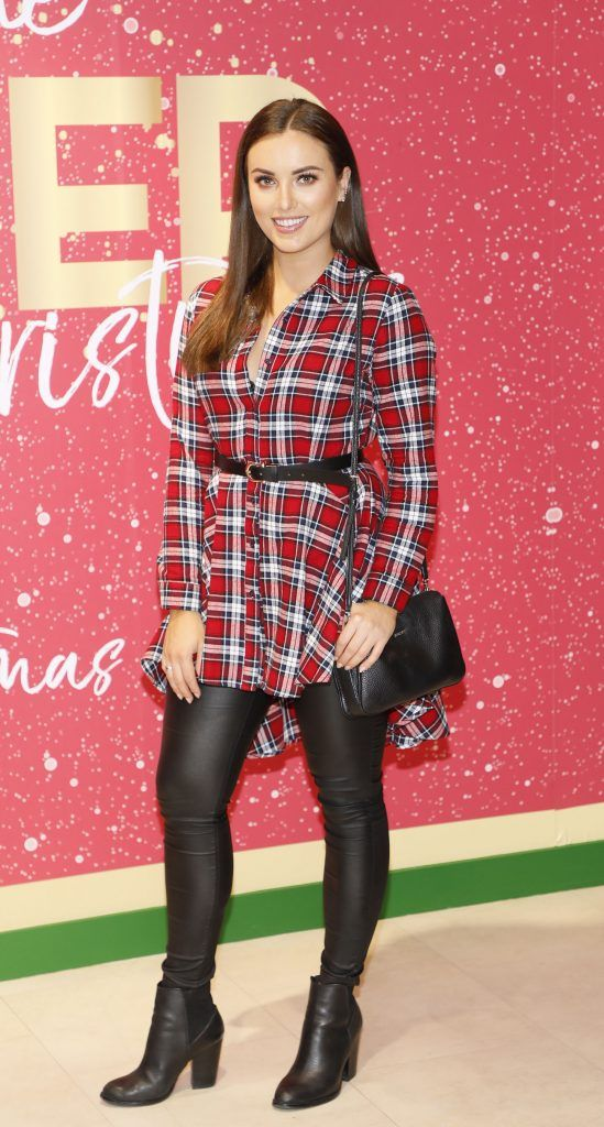 Holly Carpenter  pictured at the Arnotts Christmas Gifts Preview. Photo by Kieran Harnett