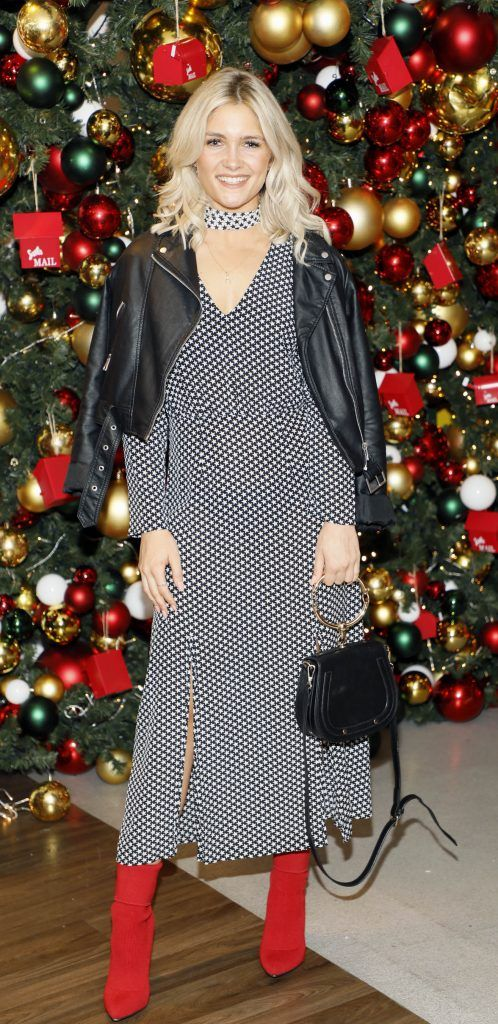 Niamh Cullen  pictured at the Arnotts Christmas Gifts Preview. Photo by Kieran Harnett
