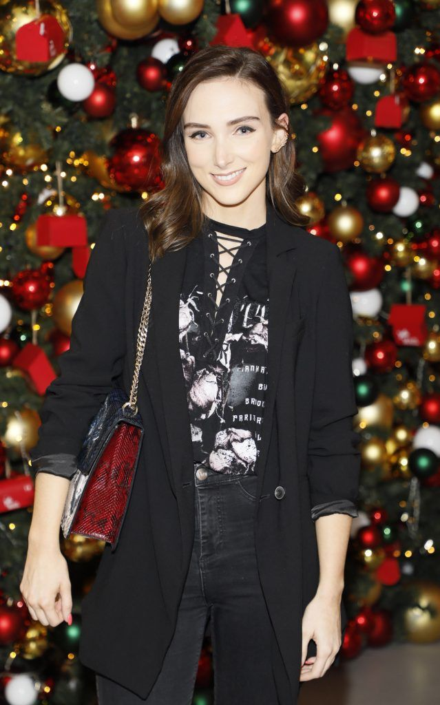 Niamh Doherty  pictured at the Arnotts Christmas Gifts Preview. Photo by Kieran Harnett