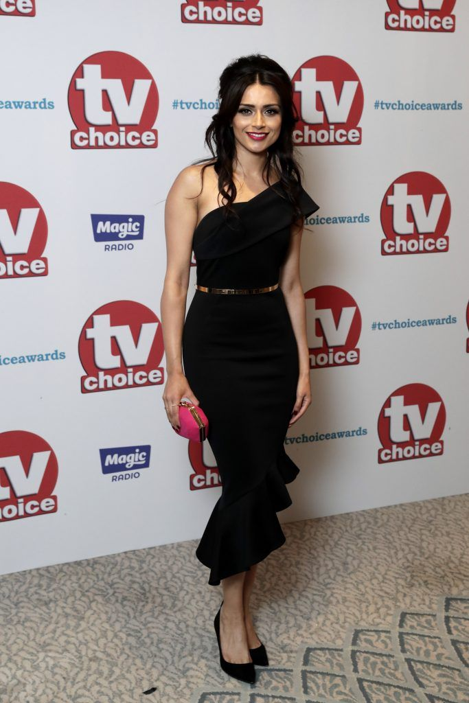 Bhavna Limbachia arrives for the TV Choice Awards at The Dorchester on September 4, 2017 in London, England.  (Photo by John Phillips/Getty Images)