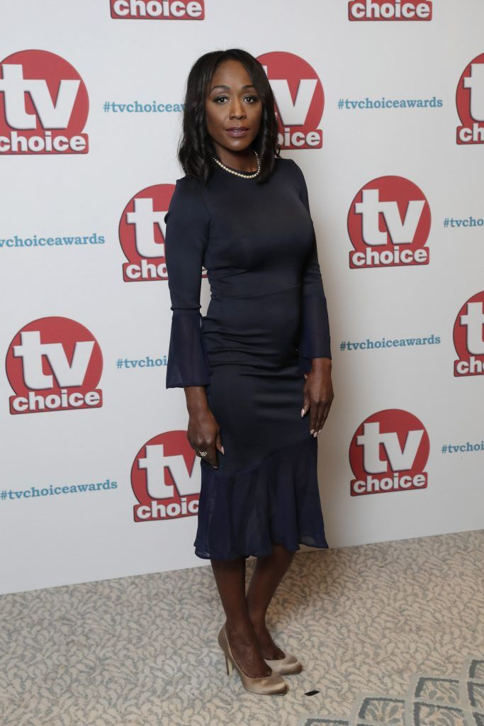 Diane Parish arrives for the TV Choice Awards at The Dorchester on September 4, 2017 in London, England.  (Photo by John Phillips/Getty Images)