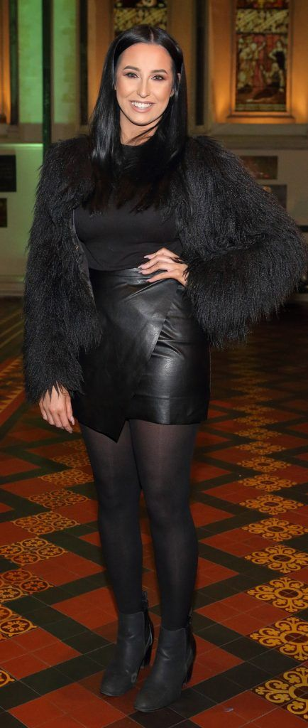 Danielle Roberts at the launch of Urban Decay's Troublemaker Mascara at St. Patrick's Cathedral, Dublin. Photo by Brian McEvoy Photography