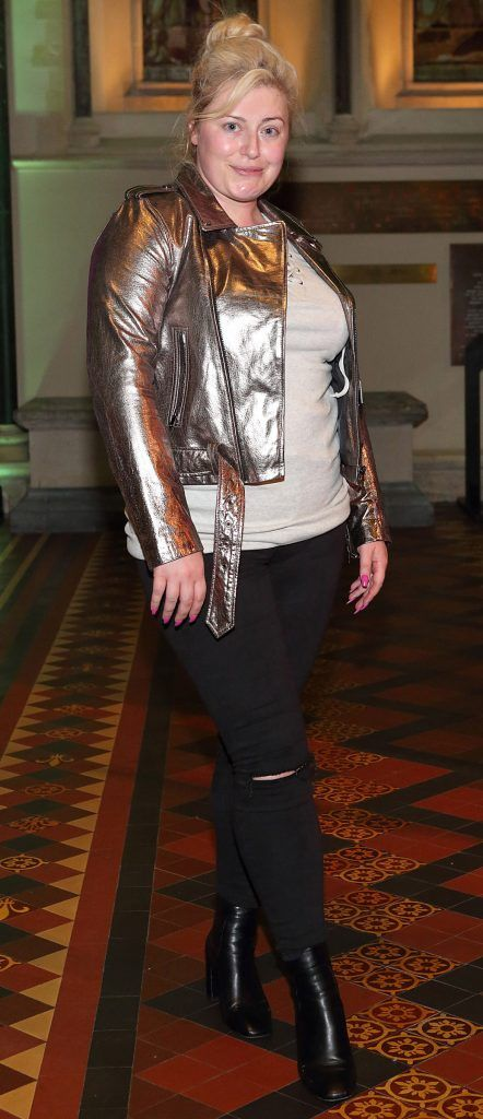 Cliona Kelly at the launch of Urban Decay's Troublemaker Mascara at St. Patrick's Cathedral, Dublin. Photo by Brian McEvoy Photography