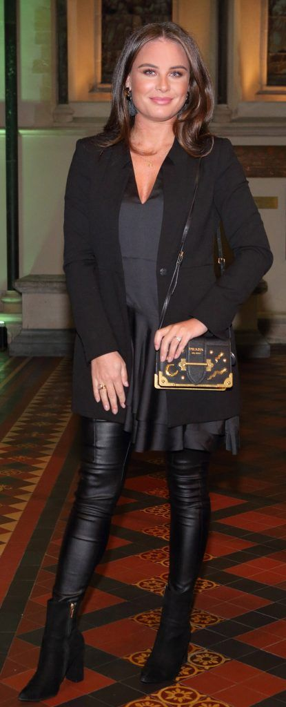 Jodie Wood at the launch of Urban Decay's Troublemaker Mascara at St. Patrick's Cathedral, Dublin. Photo by Brian McEvoy Photography