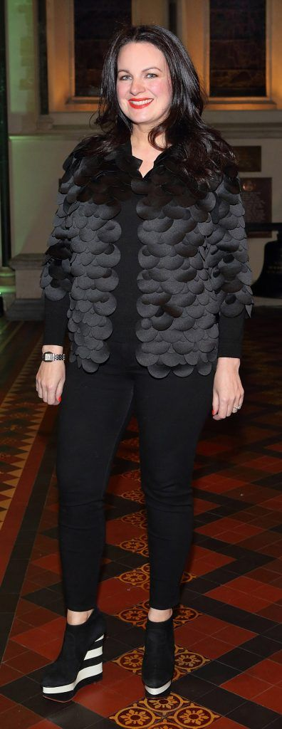 Triona McCarthy at the launch of Urban Decay's Troublemaker Mascara at St. Patrick's Cathedral, Dublin. Photo by Brian McEvoy Photography