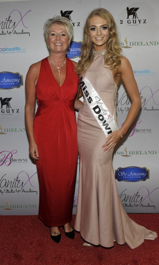 Tracey and Alex Catherwood at the Best of Irish Beauty and Brains Vie For Miss Ireland 2017 Victory. Photo by Patrick O'Leary