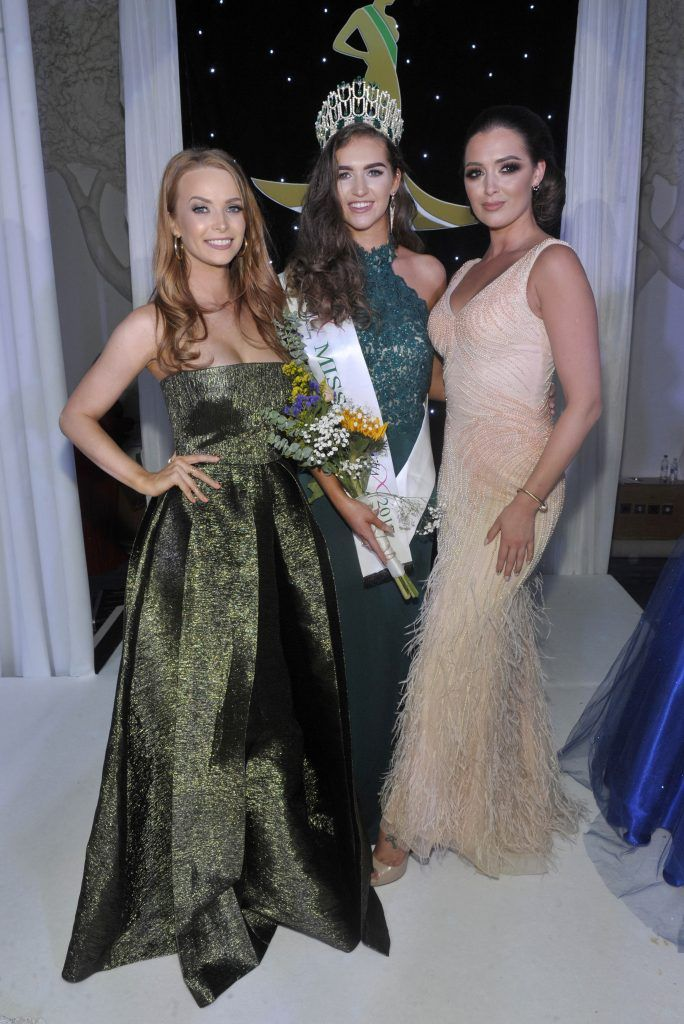 Pictured is Former Miss Ireland 2013 Aoife Walsh, Miss Ireland 2017 Lauren McDonagh and Former Miss Ireland 2012 Rebecca Maguire. Photo by Patrick O'Leary