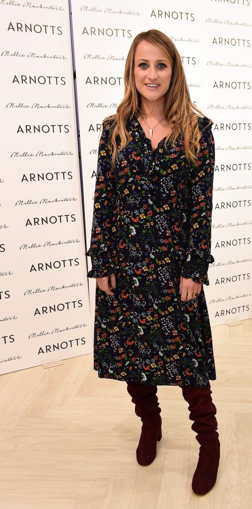 Justine King pictured as Millie Mackintosh launched her new collection at Arnotts Style Sessions. Photos by Michael Chester