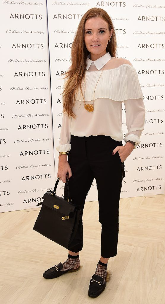 Laura Jordan pictured as Millie Mackintosh launched her new collection at Arnotts Style Sessions. Photos by Michael Chester