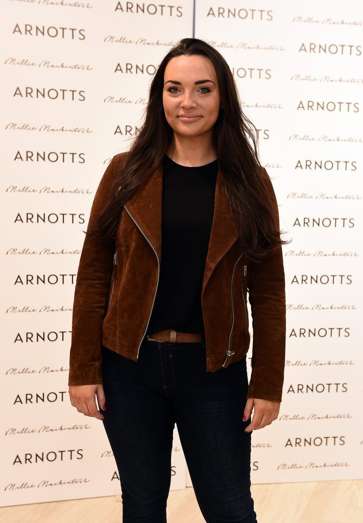 Katelynne Mc Bride pictured as Millie Mackintosh launched her new collection at Arnotts Style Sessions. Photos by Michael Chester