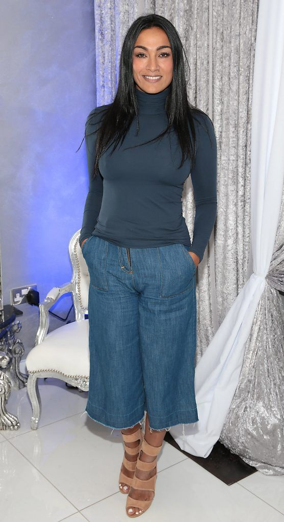 Gail Kaneswaran at the launch of Beautique Beauty Studio in Fashion City, Ballymount, Dublin. Picture: Brian McEvoy