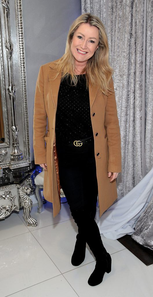 Andrea Hayes at the launch of Beautique Beauty Studio in Fashion City, Ballymount, Dublin. Picture: Brian McEvoy