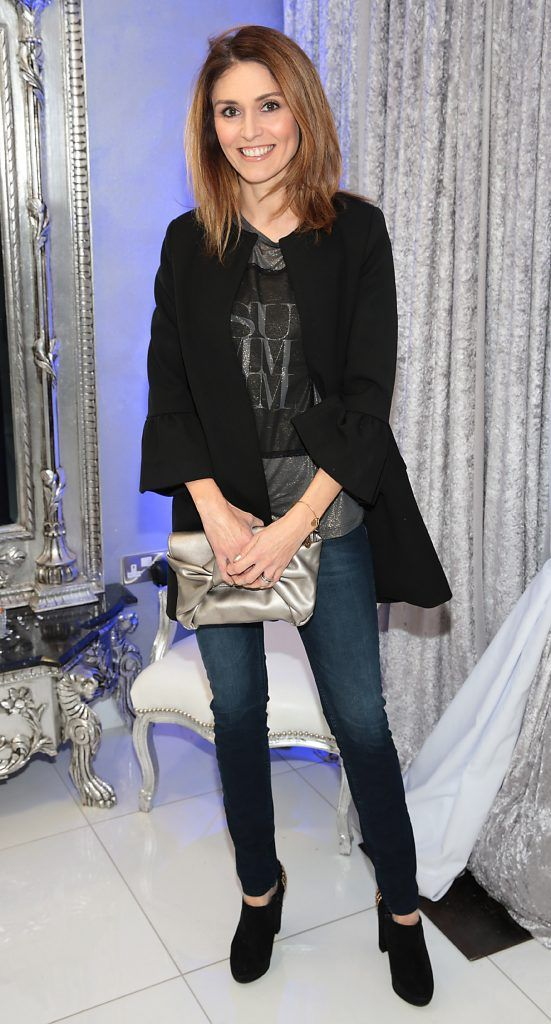 Niamh Redmond at the launch of Beautique Beauty Studio in Fashion City, Ballymount, Dublin. Picture: Brian McEvoy