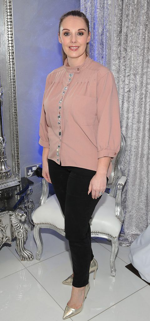 Sabrina Ni Conbubhair at the launch of Beautique Beauty Studio in Fashion City, Ballymount, Dublin. Picture: Brian McEvoy