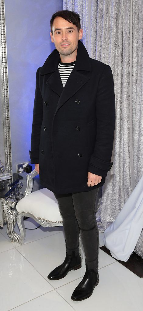 Keith Cullen at the launch of Beautique Beauty Studio in Fashion City, Ballymount, Dublin. Picture: Brian McEvoy