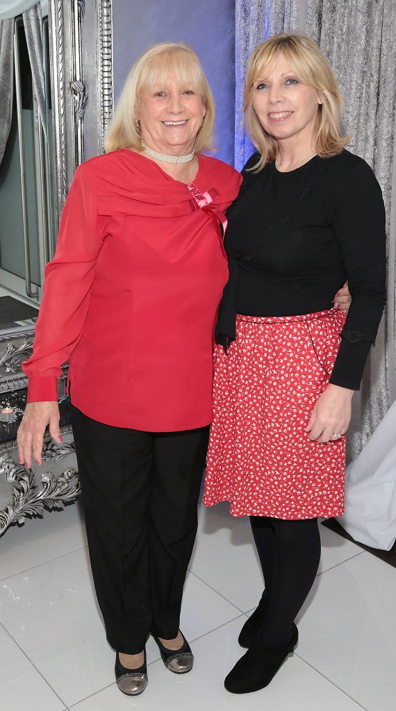 Anne O Neill, and Shirley O Neill at the launch of Beautique Beauty Studio in Fashion City, Ballymount, Dublin. Picture: Brian McEvoy