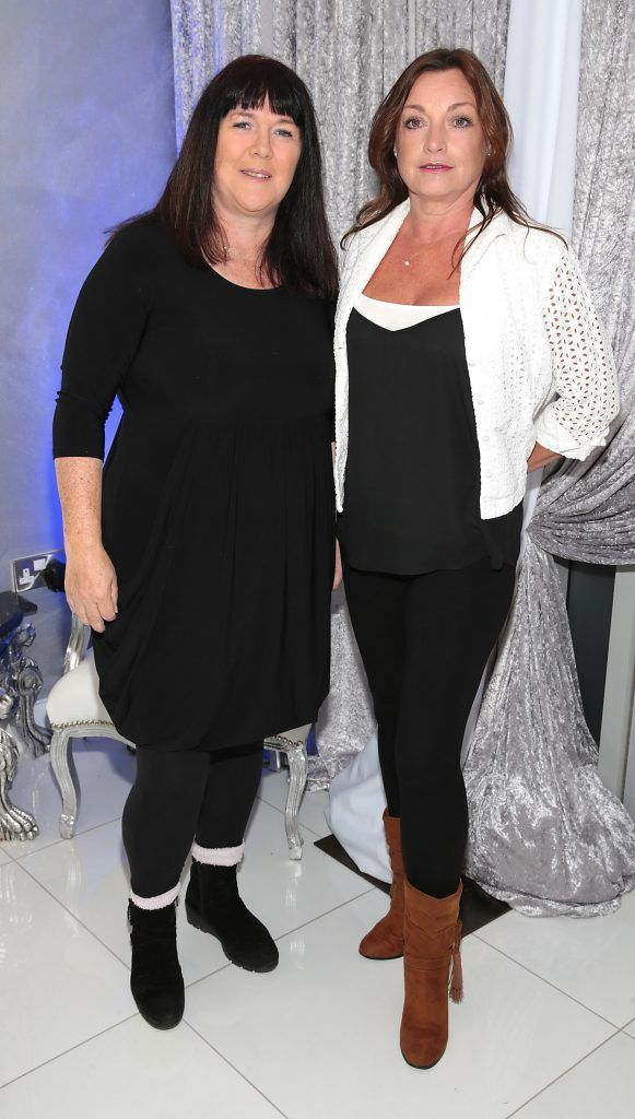 Una Williams and Anita Kelly at the launch of Beautique Beauty Studio in Fashion City, Ballymount, Dublin. Picture: Brian McEvoy