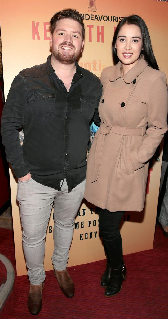 Thomas Crosse and Laura O Shea at the launch of Kenneth King's book The Endeavourist at Lillies Bordello, Dublin. Pic: Brian McEvoy