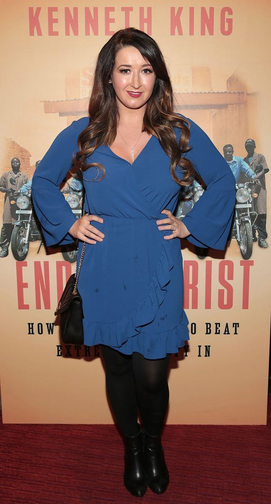 Kerryann Sheridan at the launch of Kenneth King's book The Endeavourist at Lillies Bordello, Dublin. Pic: Brian McEvoy