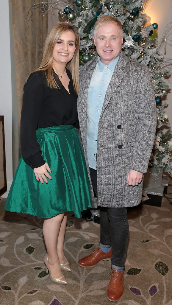 Karen Kehoe and Paul McKeon at the World Vision Women mean Business event at the Intercontinental Hotel in Ballsbridge, Dublin. Picture: Brian McEvoy