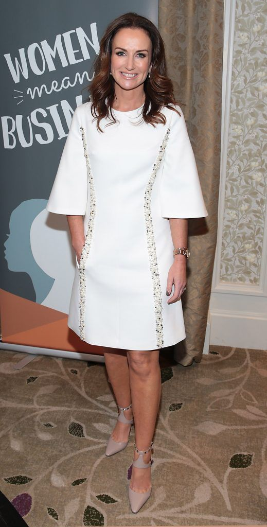 Lorraine Keane at the World Vision Women mean Business event at the Intercontinental Hotel in Ballsbridge, Dublin. Picture: Brian McEvoy