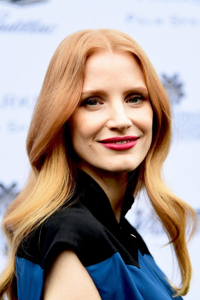 Jessica Chastain attends the Variety's Creative Impact Awards and 10 Directors to watch at the 29th Annual Palm Springs International Film Festival at Parker Palm Springs on January 3, 2018 in Palm Springs, California.  (Photo by Emma McIntyre/Getty Images)