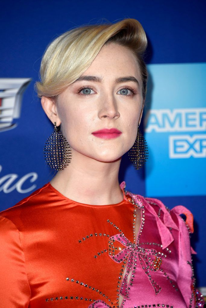 Saoirse Ronan attends the 29th Annual Palm Springs International Film Festival Awards Gala at Palm Springs Convention Center on January 2, 2018 in Palm Springs, California.  (Photo by Frazer Harrison/Getty Images for Palm Springs International Film Festival )