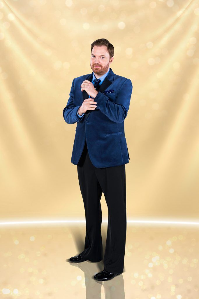 Comedian and broadcaster Bernard O'Shea will be dancing with Valeria Milova. (Photo by RTE)