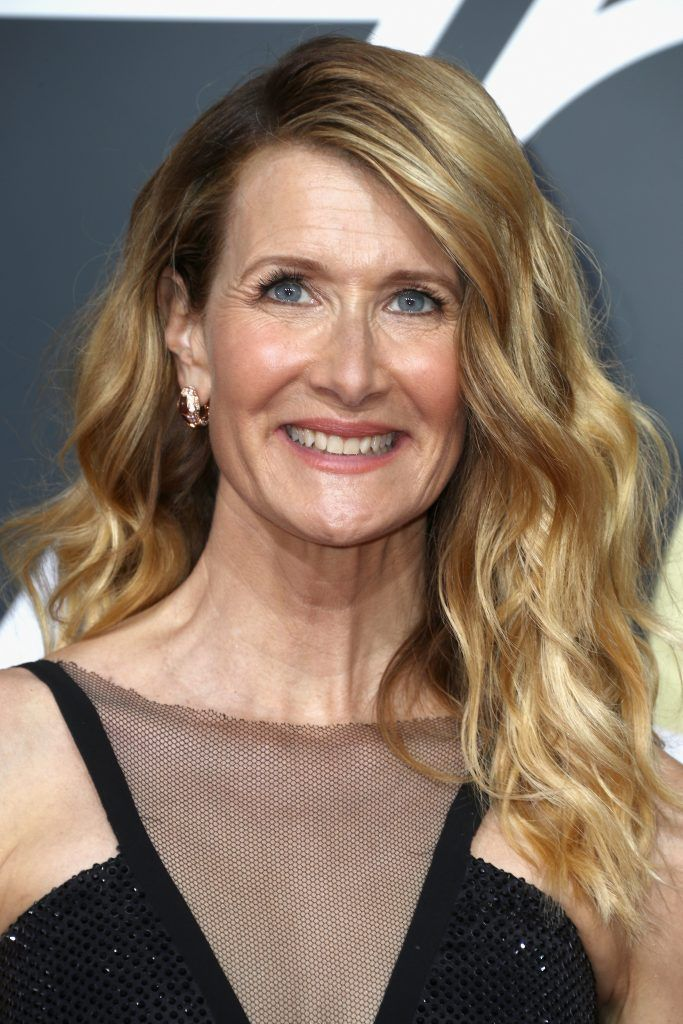 BEVERLY HILLS, CA - JANUARY 07:  Laura Dern attends The 75th Annual Golden Globe Awards at The Beverly Hilton Hotel on January 7, 2018 in Beverly Hills, California.  (Photo by Frederick M. Brown/Getty Images)