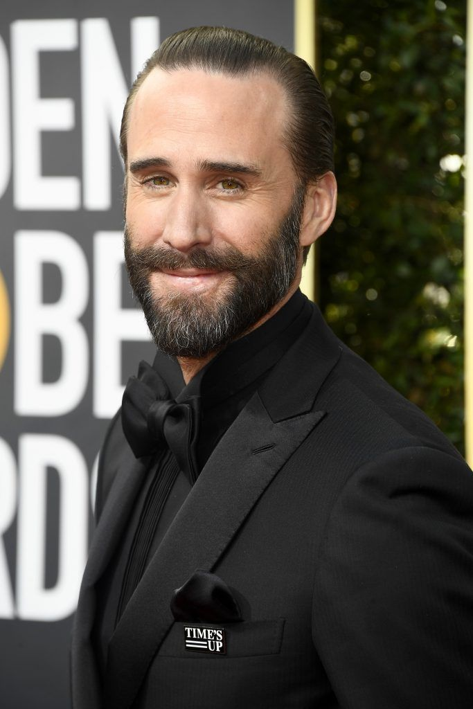 BEVERLY HILLS, CA - JANUARY 07:  Actor Joseph Fiennes attends The 75th Annual Golden Globe Awards at The Beverly Hilton Hotel on January 7, 2018 in Beverly Hills, California.  (Photo by Frazer Harrison/Getty Images)