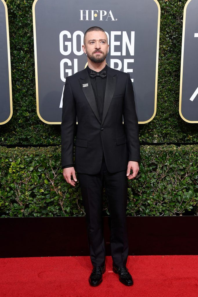 BEVERLY HILLS, CA - JANUARY 07:  Justin Timberlake attends The 75th Annual Golden Globe Awards at The Beverly Hilton Hotel on January 7, 2018 in Beverly Hills, California.  (Photo by Frazer Harrison/Getty Images)