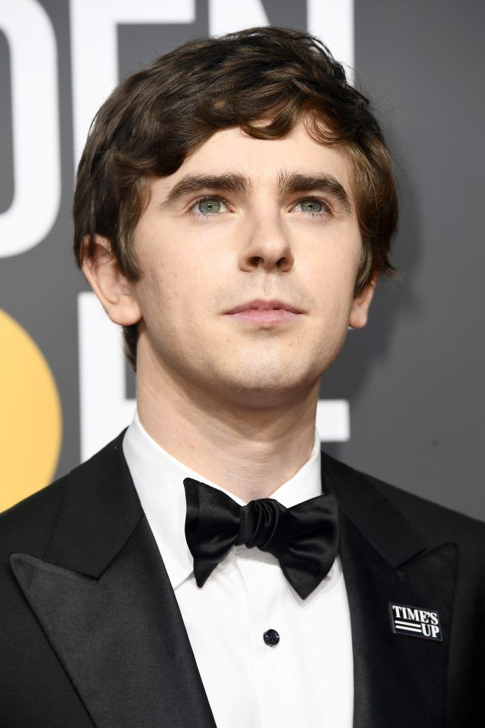 BEVERLY HILLS, CA - JANUARY 07:  Actor Freddie Highmore attends The 75th Annual Golden Globe Awards at The Beverly Hilton Hotel on January 7, 2018 in Beverly Hills, California.  (Photo by Frazer Harrison/Getty Images)