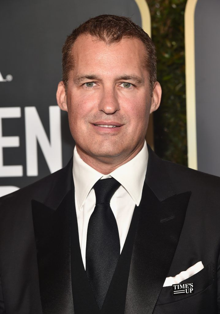 BEVERLY HILLS, CA - JANUARY 07:  Original Films at Netflix Scott Stuber attends The 75th Annual Golden Globe Awards at The Beverly Hilton Hotel on January 7, 2018 in Beverly Hills, California.  (Photo by Alberto E. Rodriguez/Getty Images)