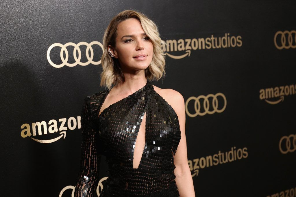 Actor Arielle Kebel attends Amazon Studios' Golden Globes Celebration at The Beverly Hilton Hotel on January 7, 2018 in Beverly Hills, California.  (Photo by Earl Gibson III/Getty Images)