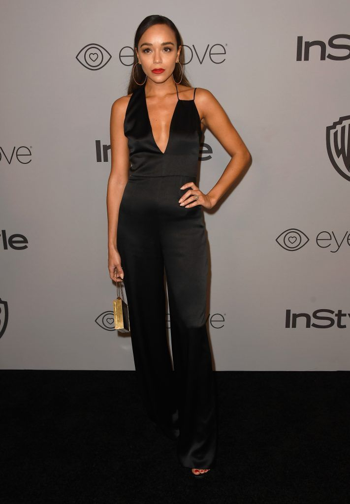 Ashley Madekwe attends 19th Annual Post-Golden Globes Party hosted by Warner Bros. Pictures and InStyle at The Beverly Hilton Hotel on January 7, 2018 in Beverly Hills, California.  (Photo by Frazer Harrison/Getty Images)