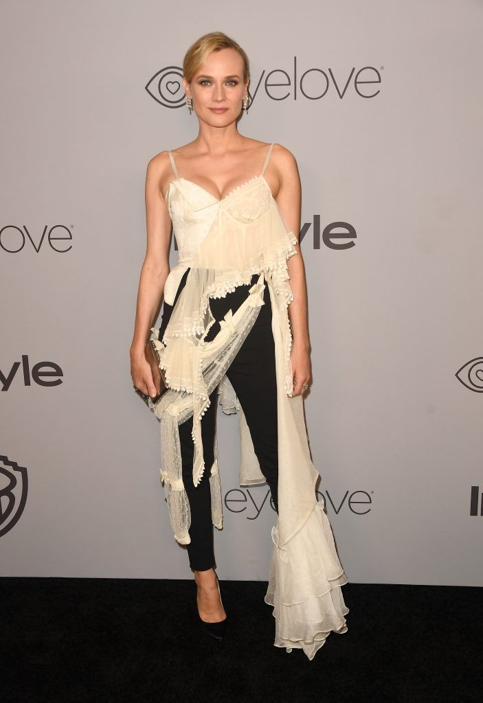 Actor Diane Kruger attends the 19th Annual Post-Golden Globes Party hosted by Warner Bros. Pictures and InStyle at The Beverly Hilton Hotel on January 7, 2018 in Beverly Hills, California.  (Photo by Frazer Harrison/Getty Images)