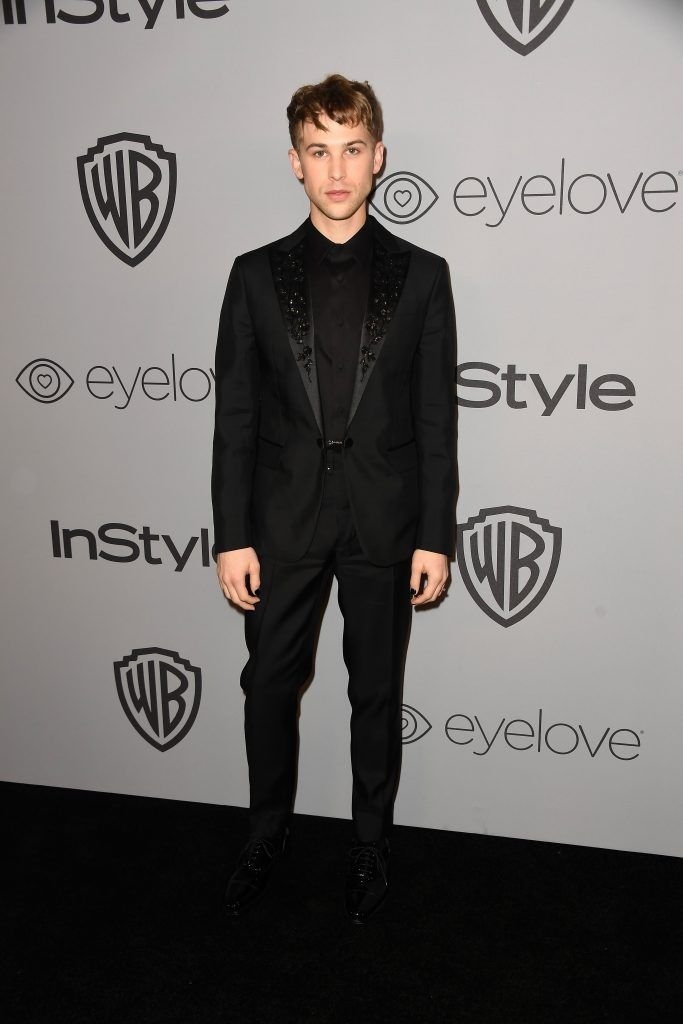 Actor Tommy Dorfman attends 19th Annual Post-Golden Globes Party hosted by Warner Bros. Pictures and InStyle at The Beverly Hilton Hotel on January 7, 2018 in Beverly Hills, California.  (Photo by Frazer Harrison/Getty Images)