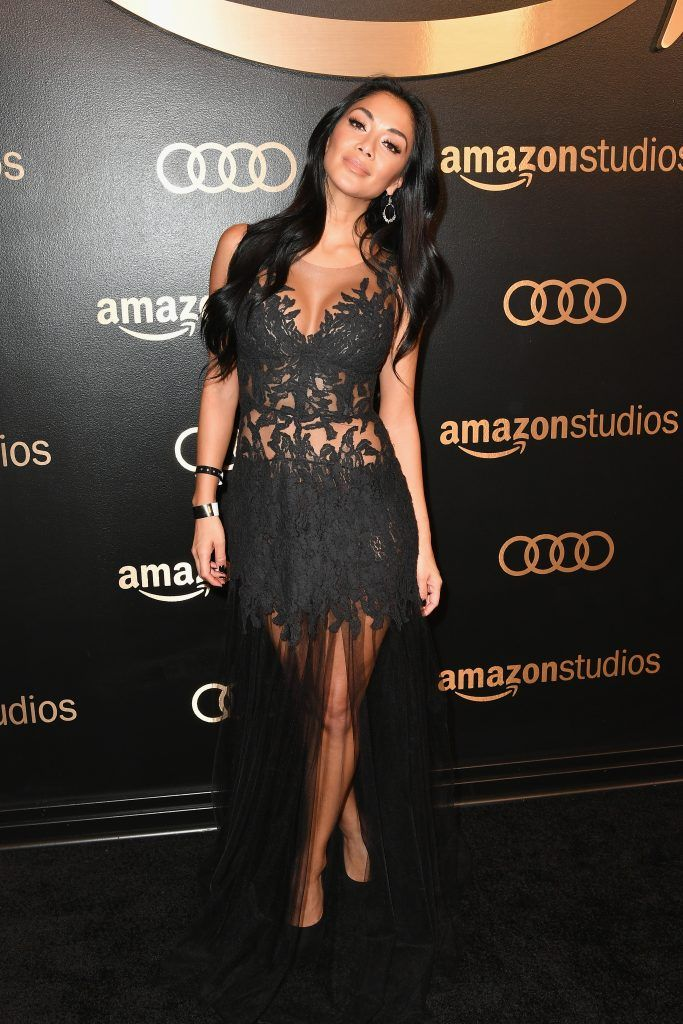 TV personality Nicole Scherzinger attends Amazon Studios' Golden Globes Celebration at The Beverly Hilton Hotel on January 7, 2018 in Beverly Hills, California.  (Photo by Earl Gibson III/Getty Images)