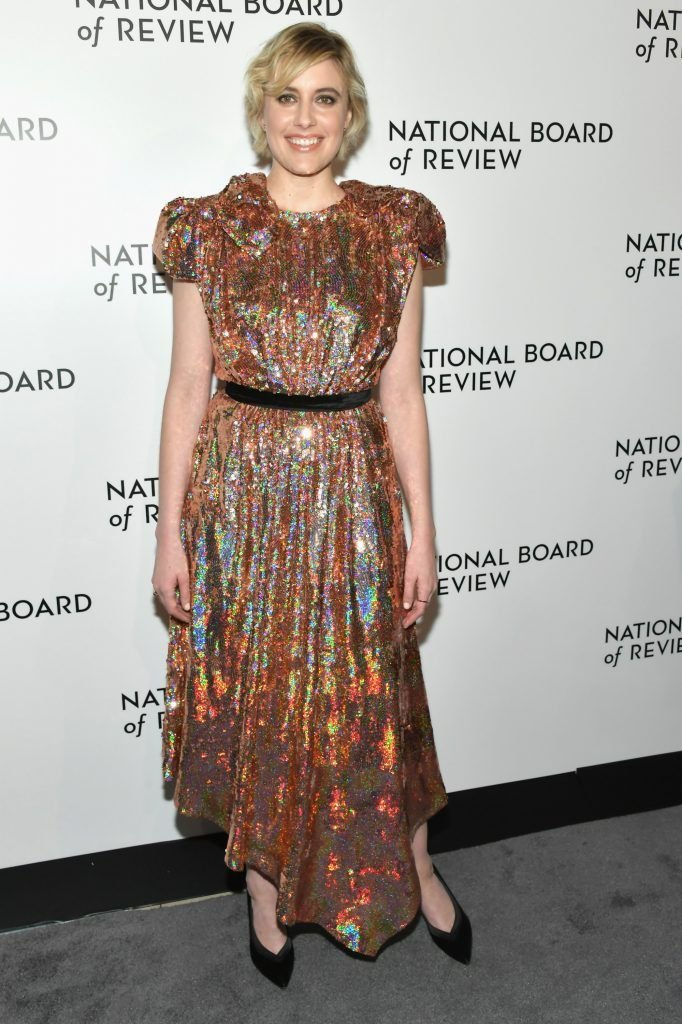 Director Greta Gerwig attends the 2018 The National Board Of Review Annual Awards Gala at Cipriani 42nd Street on January 9, 2018 in New York City.  (Photo by Mike Coppola/Getty Images)