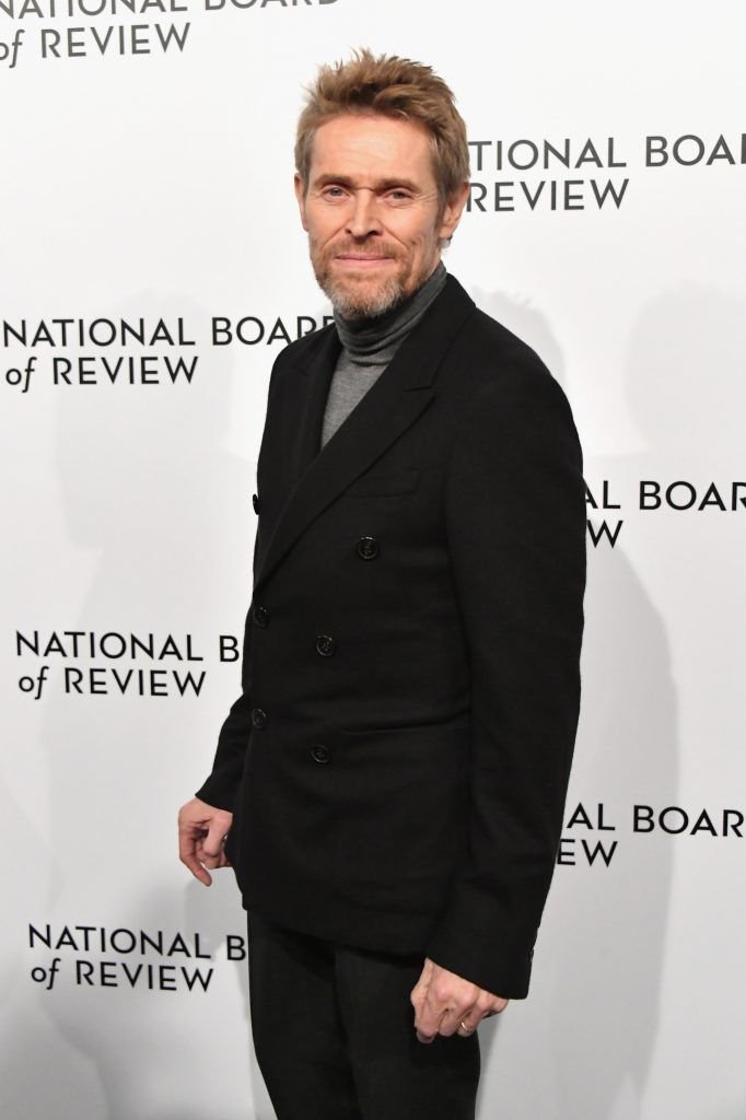 Actor Willem Dafoe attends the 2018 The National Board Of Review Annual Awards Gala at Cipriani 42nd Street on January 9, 2018 in New York City.  (Photo by Mike Coppola/Getty Images)