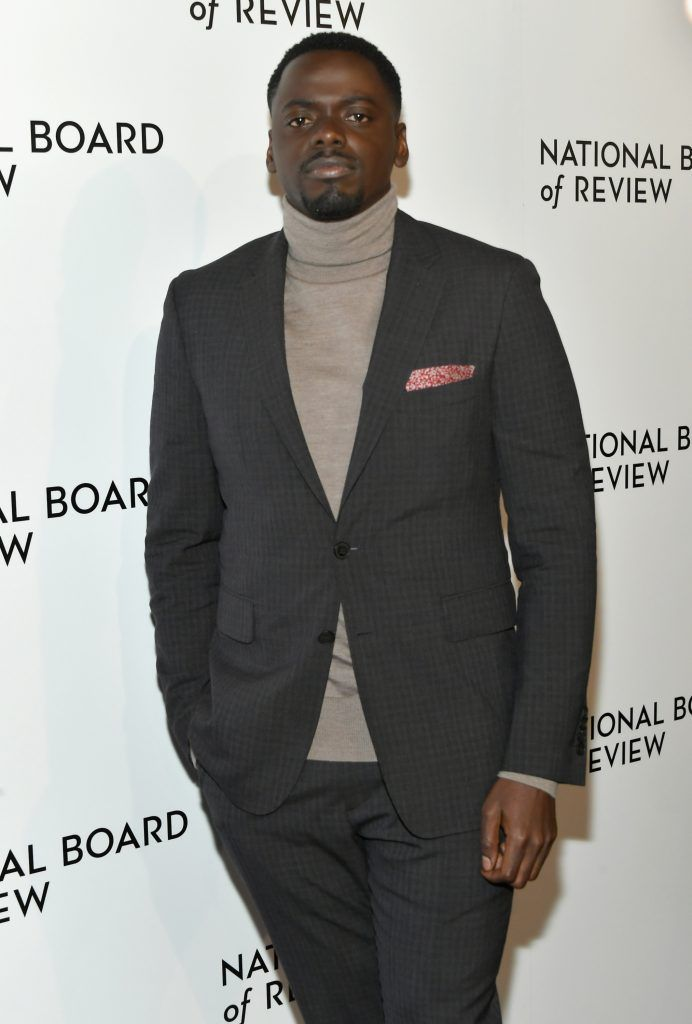 Actor Daniel Kaluuya attends the 2018 The National Board Of Review Annual Awards Gala at Cipriani 42nd Street on January 9, 2018 in New York City.  (Photo by Mike Coppola/Getty Images)