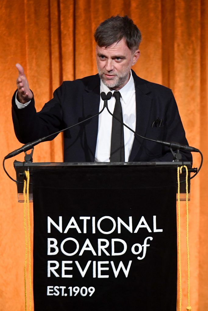 Paul Thomas Anderson accepts the Best Original Screenplay award during the National Board of Review Annual Awards Gala at Cipriani 42nd Street on January 9, 2018 in New York City.  (Photo by Dimitrios Kambouris/Getty Images for National Board of Review)