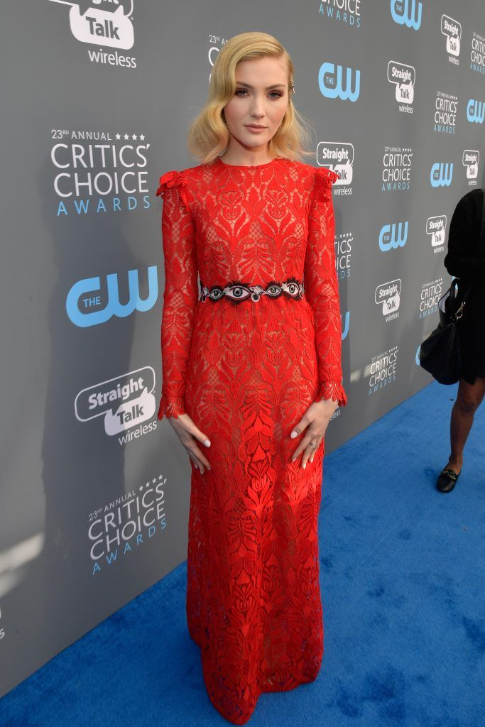 SANTA MONICA, CA - JANUARY 11:  Actor Skyler Samuels attends The 23rd Annual Critics' Choice Awards at Barker Hangar on January 11, 2018 in Santa Monica, California.  (Photo by Matt Winkelmeyer/Getty Images for The Critics' Choice Awards  )