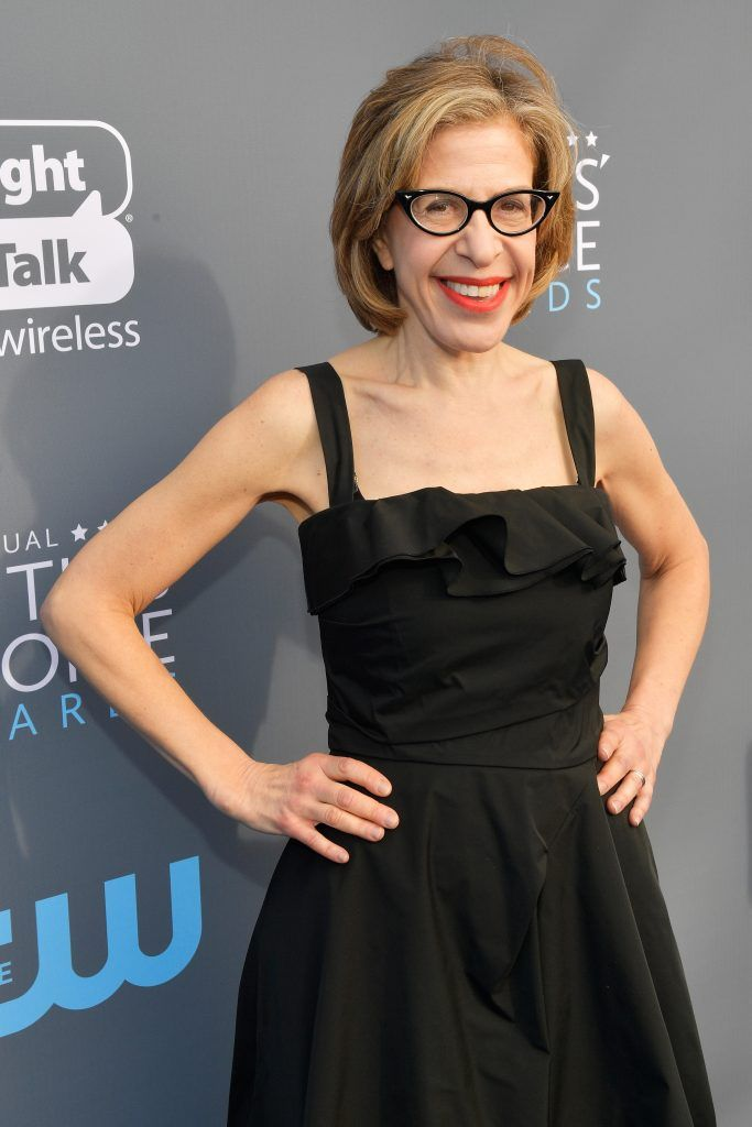 SANTA MONICA, CA - JANUARY 11:  Actor Jackie Hoffman attends The 23rd Annual Critics' Choice Awards at Barker Hangar on January 11, 2018 in Santa Monica, California.  (Photo by Matt Winkelmeyer/Getty Images for The Critics' Choice Awards  )