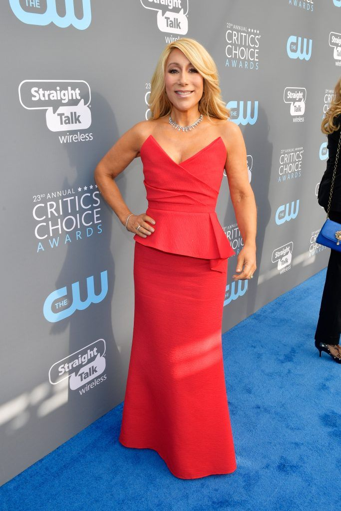 SANTA MONICA, CA - JANUARY 11:  TV personality Lori Greiner attends The 23rd Annual Critics' Choice Awards at Barker Hangar on January 11, 2018 in Santa Monica, California.  (Photo by Matt Winkelmeyer/Getty Images for The Critics' Choice Awards  )