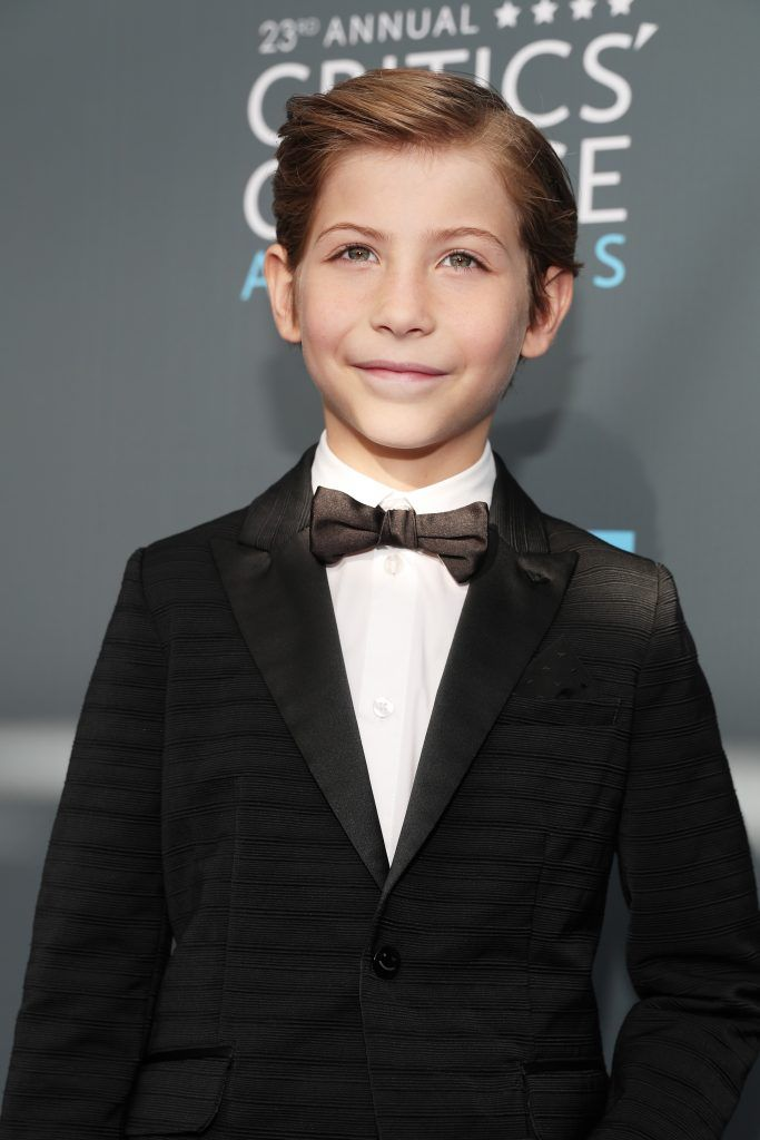 SANTA MONICA, CA - JANUARY 11:  Actor Jacob Tremblay attends The 23rd Annual Critics' Choice Awards at Barker Hangar on January 11, 2018 in Santa Monica, California.  (Photo by Christopher Polk/Getty Images for The Critics' Choice Awards  )