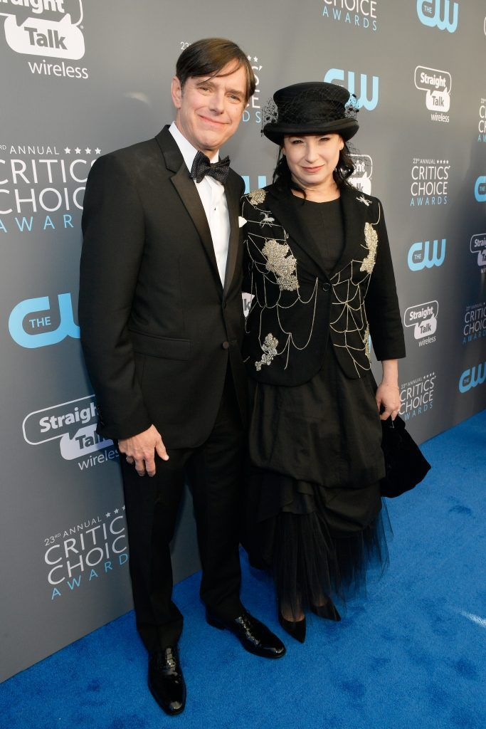 SANTA MONICA, CA - JANUARY 11:  Producers Daniel Palladino (L) and Amy Sherman-Palladino attend The 23rd Annual Critics' Choice Awards at Barker Hangar on January 11, 2018 in Santa Monica, California.  (Photo by Matt Winkelmeyer/Getty Images for The Critics' Choice Awards  )
