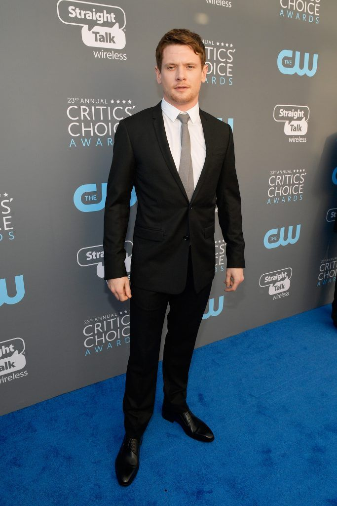 SANTA MONICA, CA - JANUARY 11:  Actor Jack O'Connell attends The 23rd Annual Critics' Choice Awards at Barker Hangar on January 11, 2018 in Santa Monica, California.  (Photo by Matt Winkelmeyer/Getty Images for The Critics' Choice Awards  )