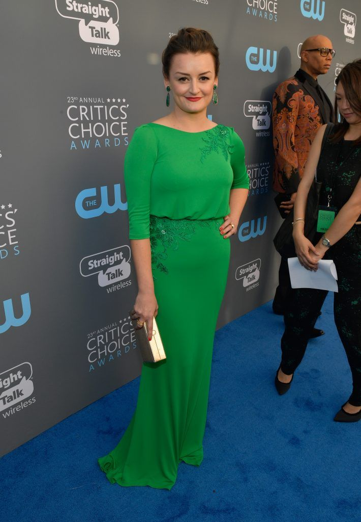 SANTA MONICA, CA - JANUARY 11:  Actor Alison Wright attends The 23rd Annual Critics' Choice Awards at Barker Hangar on January 11, 2018 in Santa Monica, California.  (Photo by Matt Winkelmeyer/Getty Images for The Critics' Choice Awards  )