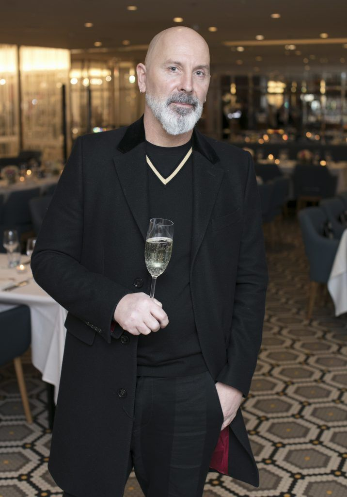 Terry Barber pictured at The Restaurant at Brown Thomas where M.A.C Cosmetics celebrated 20 years of colour, creativity and culture at Brown Thomas Dublin. Photo: Anthony Woods.
